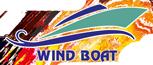 Wind Boat Rent a Speed Boat Logo